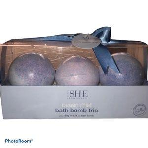 SHE Aromatherapy Bath Bomb Trio Set